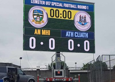 PlatformLED as a scoreboard in Ireland