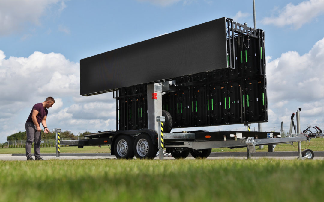 LED screen trailer – SimpLED