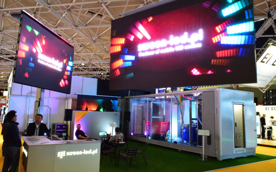 Screen-LED at Infocomm 2020 in Las Vegas.